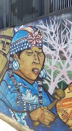 San Antonio Port Cruise Tour to Valparaiso and Casablanca Valley from Santiago: Valparaiso street art.