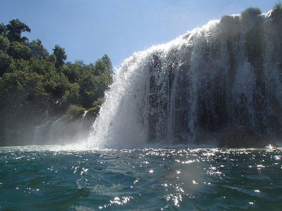 Krka National Park: Baignade dans les chutes