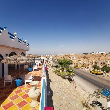 Residence Djerba Azur: Terrasse Rdc résidence Djerba Azur