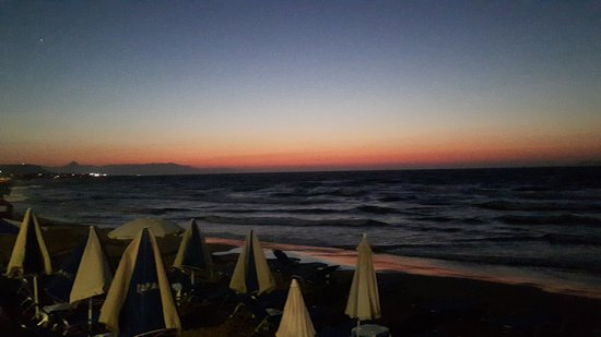 Gouves, Grecja: beach view