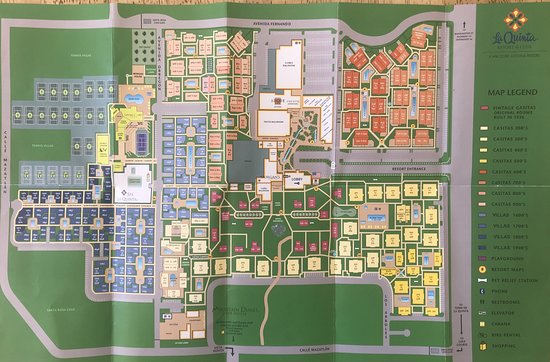 Main resort map