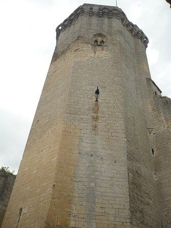 Bourdeilles, ฝรั่งเศส: donjon