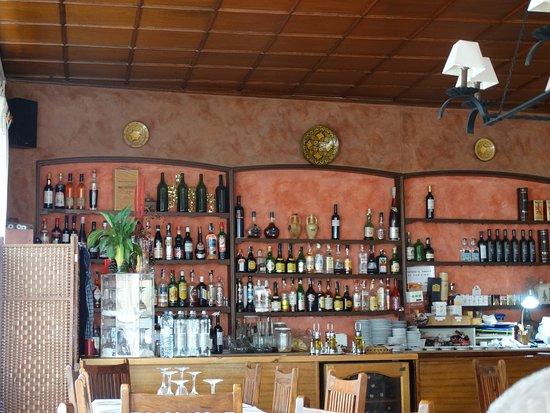 Santes Creus, Spania: Bar du restaurant