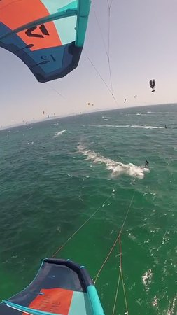 PRIVATE KITESURF ADVANCED LEVEL. Riding with us, try the best experience...: io a Valdevaqueros 