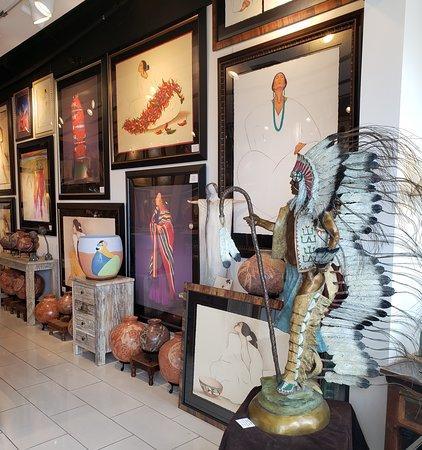 RC Gorman Navajo Gallery