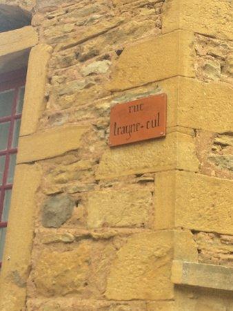 Village d'oingt et bois d'oingt : petit village pittoresque préservé  Le paysage splendide n'est pas appelé la petite toscane pour rien