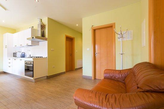 Trogir, Croácia: in side of apartment