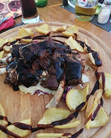 Vatania Taverna Meze Bar: Spare ribs BBQ