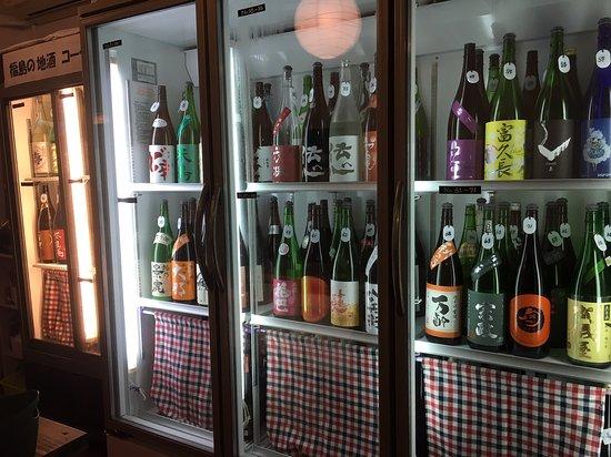 100種類の日本酒がずらり!!