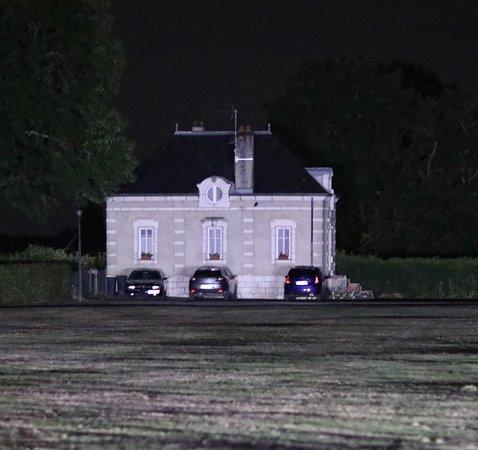 Vue se l'entrée du Château