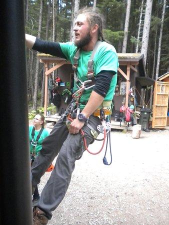 Garrett, one of the men leading our group