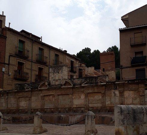 Daroca, Španělsko: Fonte!