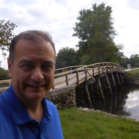 Selfie at the bridge
