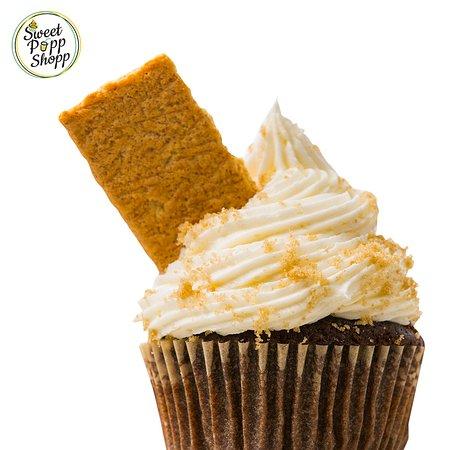 Sweet Popp Shopp Smores Cupcake