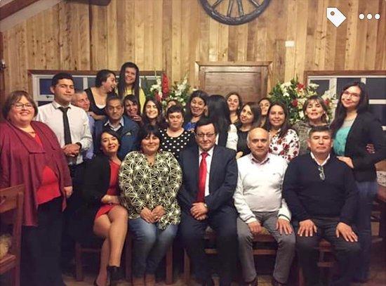 Rio Negro, Χιλή: Visita profesores escuela andrew jackson
