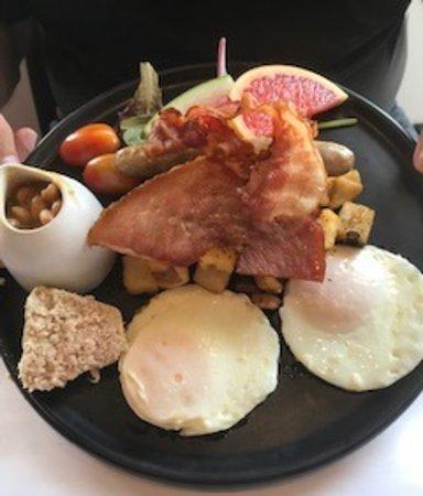 Scott, Canada: Déjeuner exquis (produits du terroir)