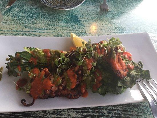 Maya's Tapas & Wine: Grilled Spanish octopus