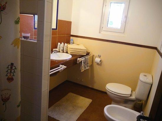 Cuarto de baño de la Suite.