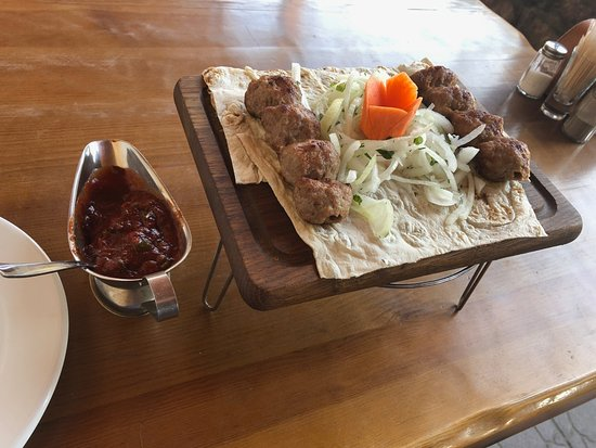 Raubicy, Wit-Rusland: Main BBQ course