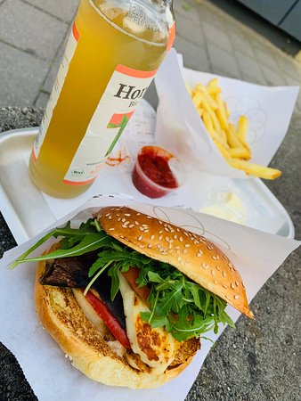 Burger de Ville: Veggie Burger