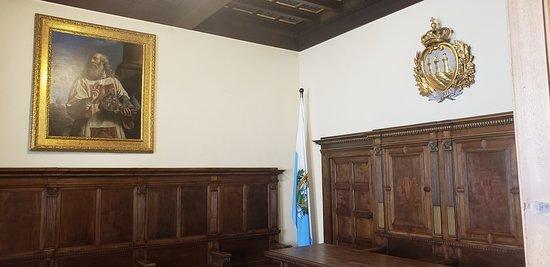 Bandeira de San Marino.