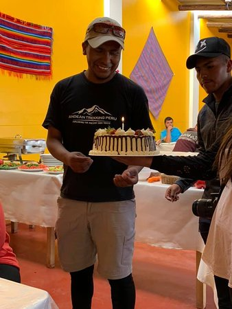 We even celebrated Edwin's birthday on the trip :)