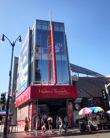 Madame Tussauds in Los Angeles can be found at The Hollywood and Highland Center along the walk of fame.