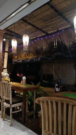 Restaurant typique balinais