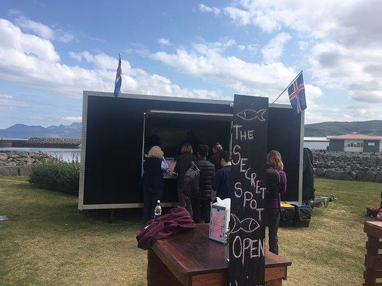The Secret Spot food truck - Olafsvik