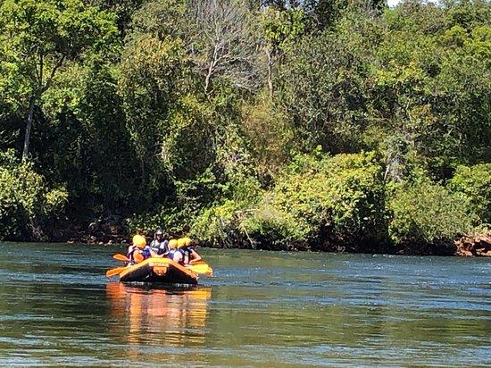 rafting no rio sono
