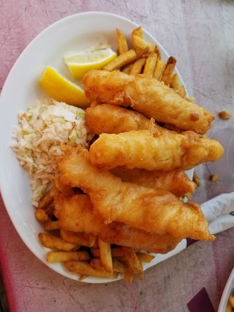 3 piece (6 pieces) Cod and Chips