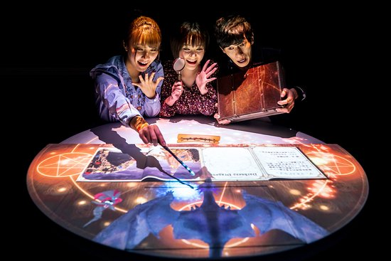 Tokyo Mystery Circus: Projection Table Game