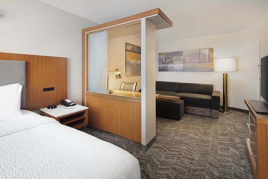 SpringHill Suites Indianapolis Downtown: Suite