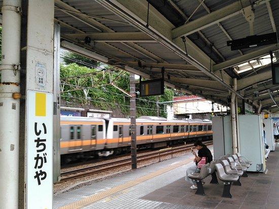 2019.8.16(金)☁市ケ谷駅🎵ホーム💛