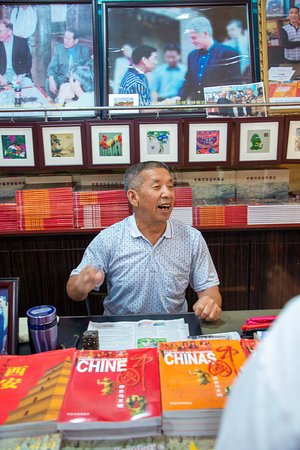 8-Day Small-Group China Tour to Beijing, Xi'an and Shanghai, No Shopping: Do not get your photos sign by this guy!
