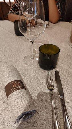 Vodo Cadore, Italien: Tavolo ristorante