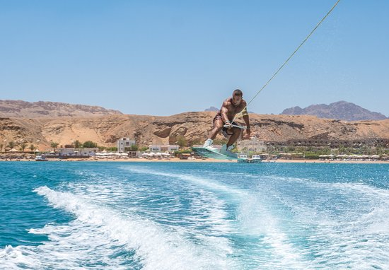 Lets jump & have some water sport fun