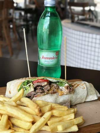 Wash all your meals down with Croatia's number one brand of mineral water Jamnica.