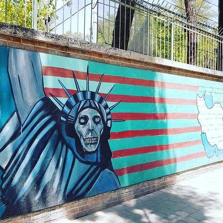 Us former Embassy.Tehran
