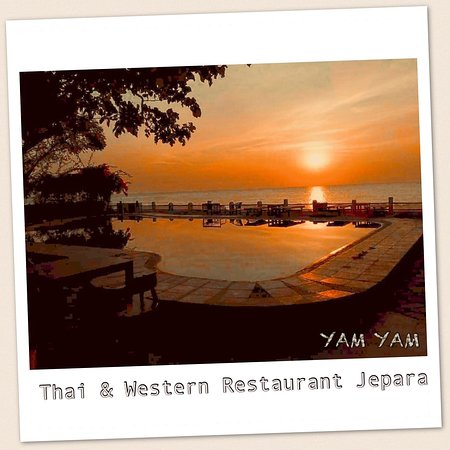 Photogenic view at YAM YAM Thai & Western Restaurant Jepara
