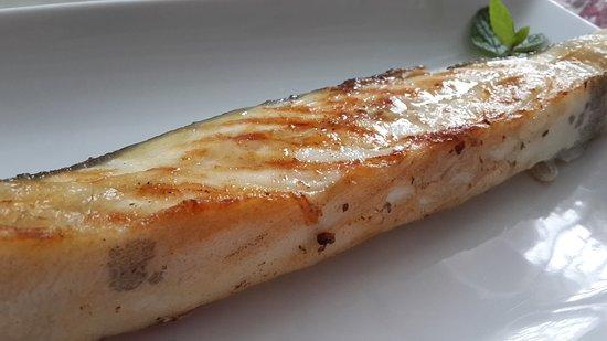 Rodaballo a la plancha, uno de nuestros platos más populares.