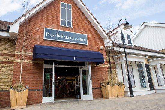 Polo Ralph Lauren currently in a pop up shop