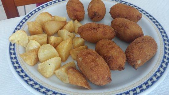 La Visteta: croquetas de jamón