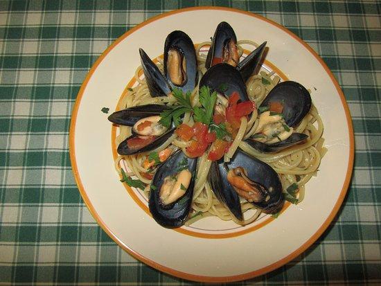 Filippu e Panaru: Spaghetti di Gragnano con le cozze