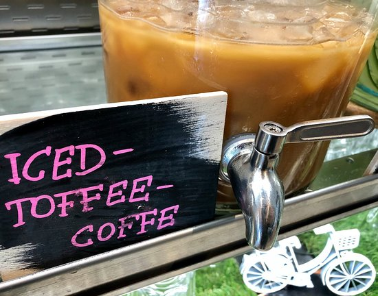 Cyclist: Iced Toffee Coffee