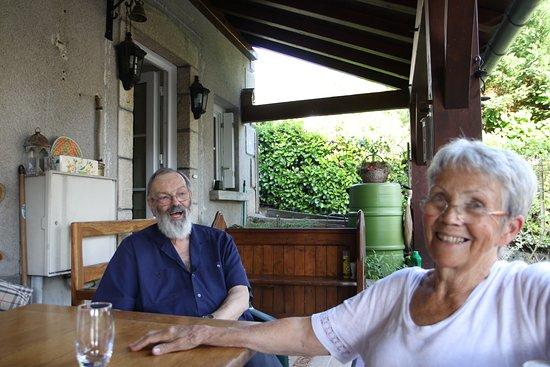 Forges, Frankrijk: Ian & Jacquie