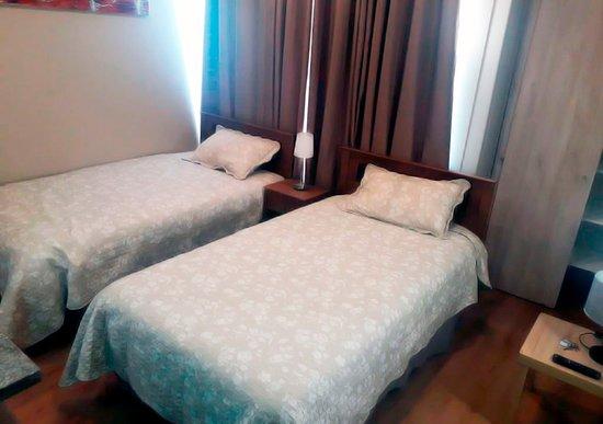 cocina, Departamento deluxe – Foto de Campos Apart Hotel, Rancagua - Tripadvisor