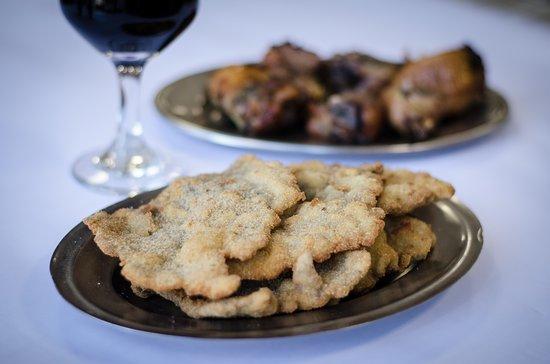 Restaurante Dona Adélia: Bife à milanesa