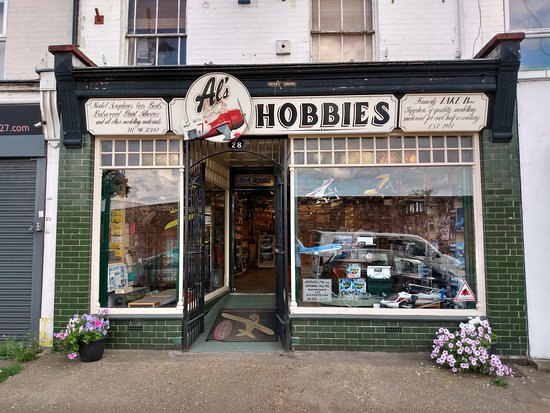 Al's Hobbies Store and RC Plane Collection