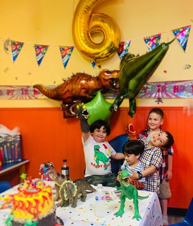 My son loved the Birthday Party in that place! I Highly recommended because they help you a lot with services, decoration in the room, the staff is very friendly!